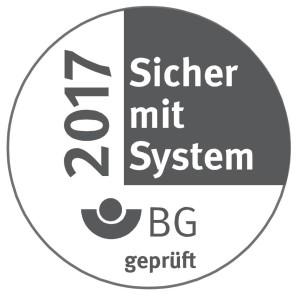 BG-geprüft: Sicher mit System